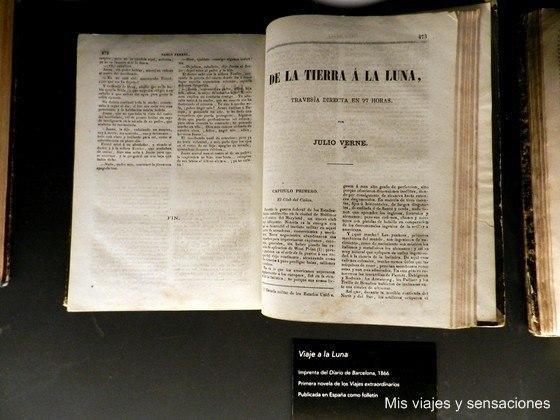 Exposición sobre Julio Verne