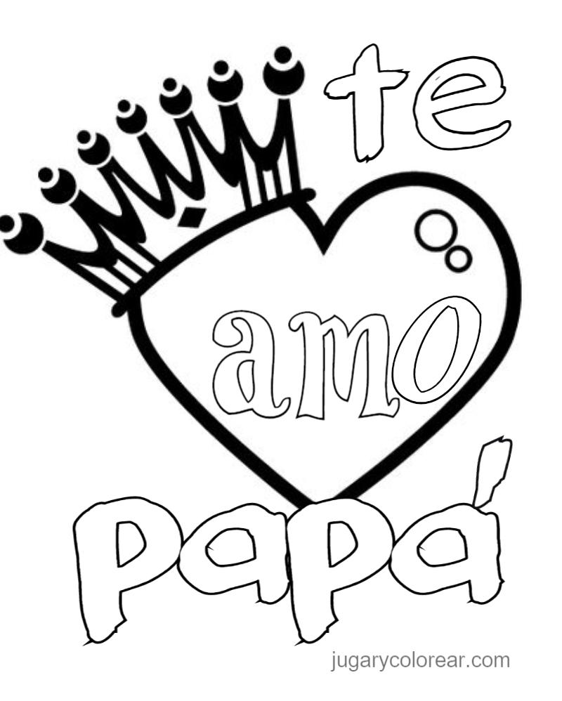 Dibujos Feliz Día Del Padre 2019 Para Niños