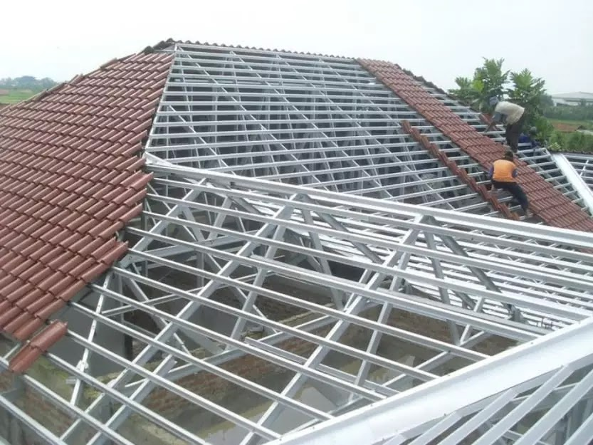 harga pasang atap baja ringan bogor jasa rangka