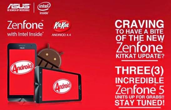 ASUS Zenfone Android Kitkat Update Coming Soon