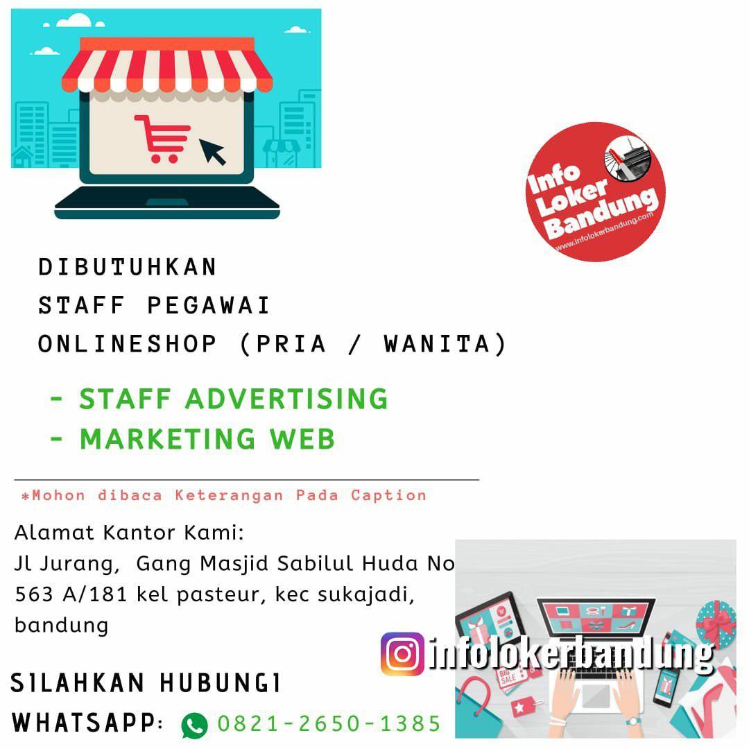 Lowongan Kerja Bina Kreative Agency Bandung September 2019