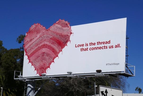 Village series teaser billboard