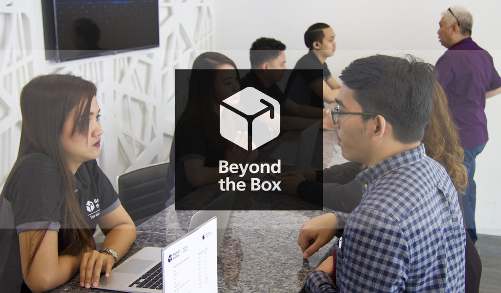 New Beyond The Box Service Center in BGC Taguig