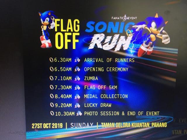 Sonic Run - Firstime Join Larian Buat Aku Terus Ketagih Nak Join Lagi!!