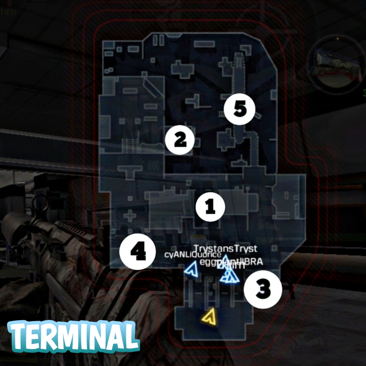 Terminal Hardpoint location