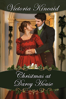 Book cover: Christmas at Darcy House by Victoria Kincaid