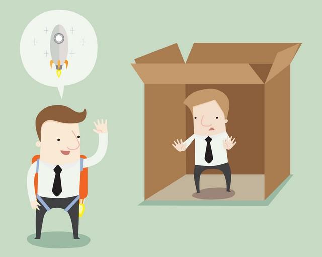 Outside the box;Outside The Box, Tips Sukses di Masa Pandemi;Out of The Box, Bangkit dari Keterpurukan;Menciptakan Peluang dengan Kreativitas;
