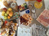 St. John Villa Rome breakfast