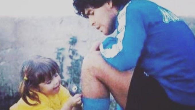 """Dalma Maradona recordó a Diego en Instagram: """"Te agradezco la vida compartida"""""""