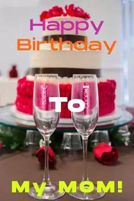Happy Birthday Mom Cake Images Free