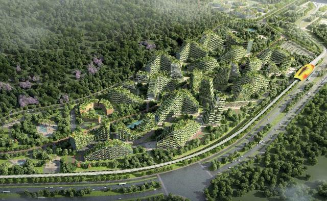Esta será la primera ciudad en el mundo cubierta de árboles