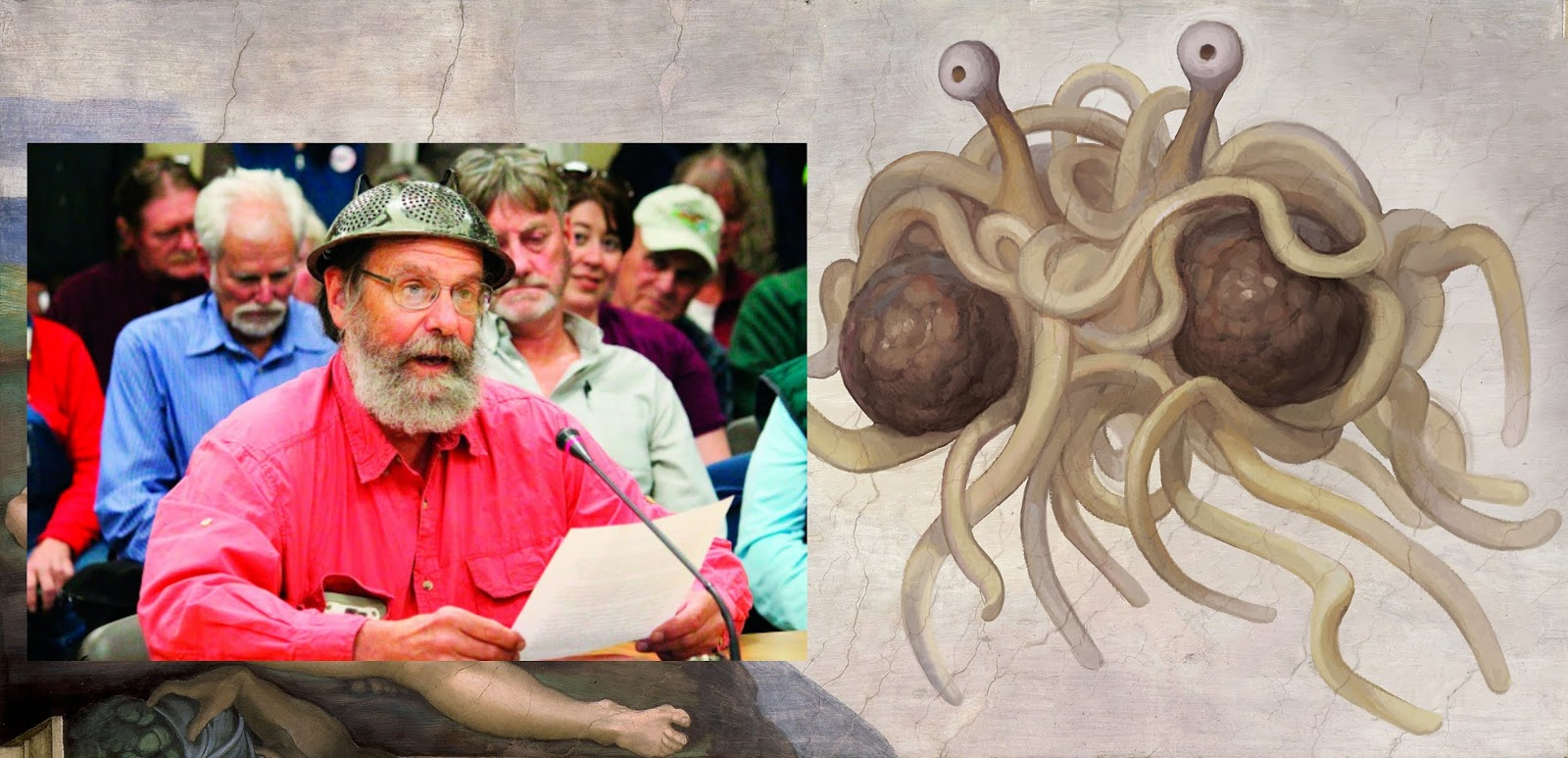 Pastafarian, Barrett Fletcher, Flying Spaghetti Monster