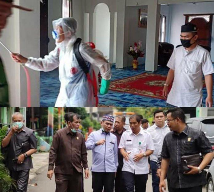 Ketua DPRD Sungai Penuh Minta Peran Aktif Kades untuk Antisipasi Covid-19
