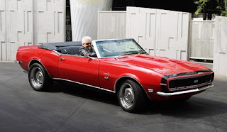 Guy Fieri Ride  1967 Chevy Camaro SS Convertible