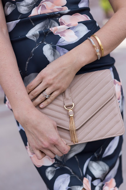 Nude clutch. Get the YSL look for less!
