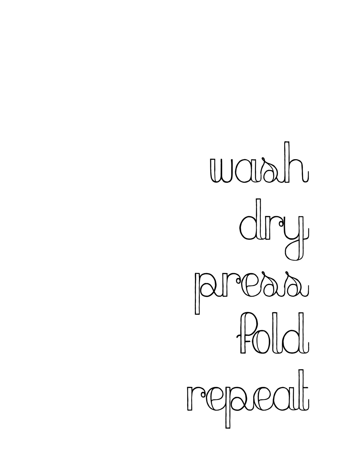 A Laundry Room Project And Free Printables