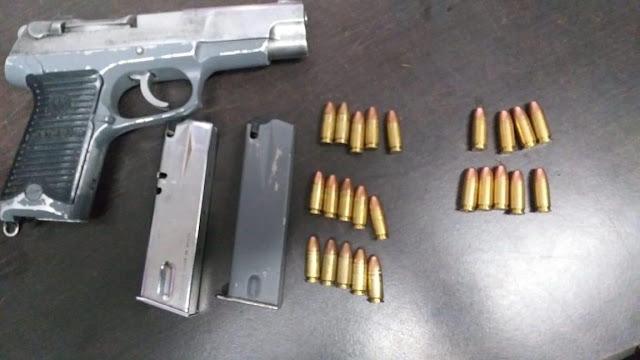 Detiene SSP a tres en posesión de un arma de fuego y cartuchos útiles, en Uruapan