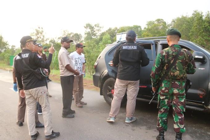 Razia WNA Ilegal, Imigrasi Merauke Turut Gandeng Satgas Yonif MR 411/PDW Kostrad Dalam Operasi Timpora