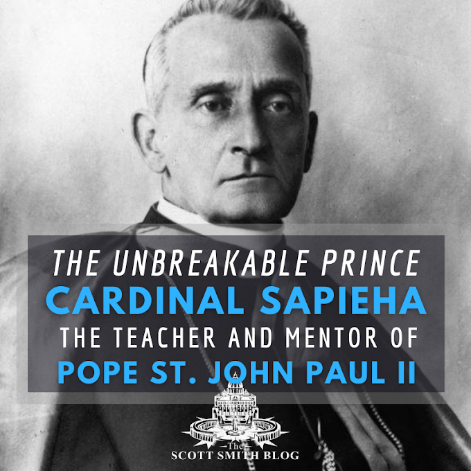 """The Unbreakable Prince"": Biography of Adam Stefan Cardinal Sapieha, the Teacher of Pope St. John Paul II"