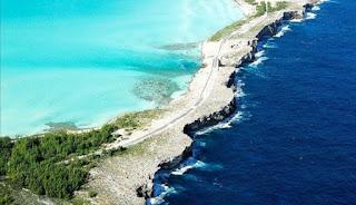 Keunikan Pertemuan Samudera Atlantik dan Laut Karibia di Eleuthera