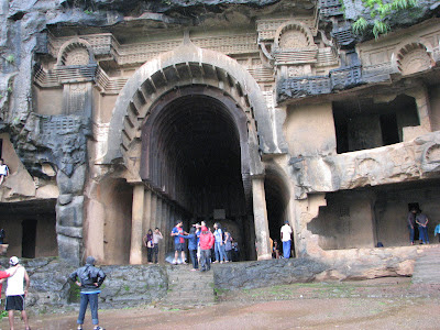 Bhaja main hall Cave