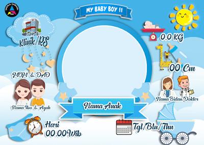 Bingkai-biodata-bayi-kosongan-warna-biru