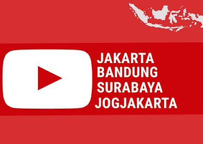 YouTube punya gawe di 4 kota besar INDONESIA, Untuke Youtubers Indonesia
