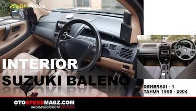 spesifikasi-interior-mobil bekas murah-suzuki baleno-1995-2001-2004