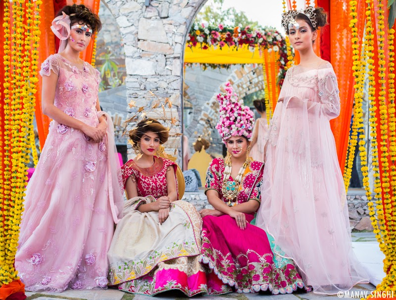 First Look Launch of Jaipur Couture Show - Season 5