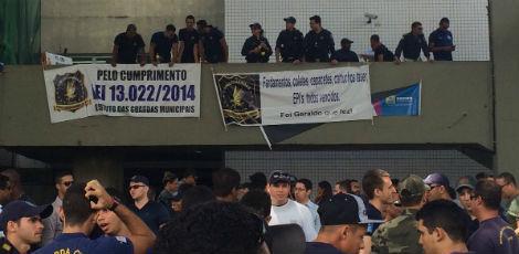 Guardas Municipais do Recife (PE) realizam paralisação por 24 horas