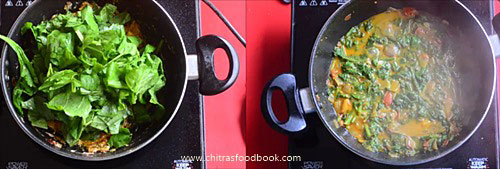 Dhaba style palak paneer