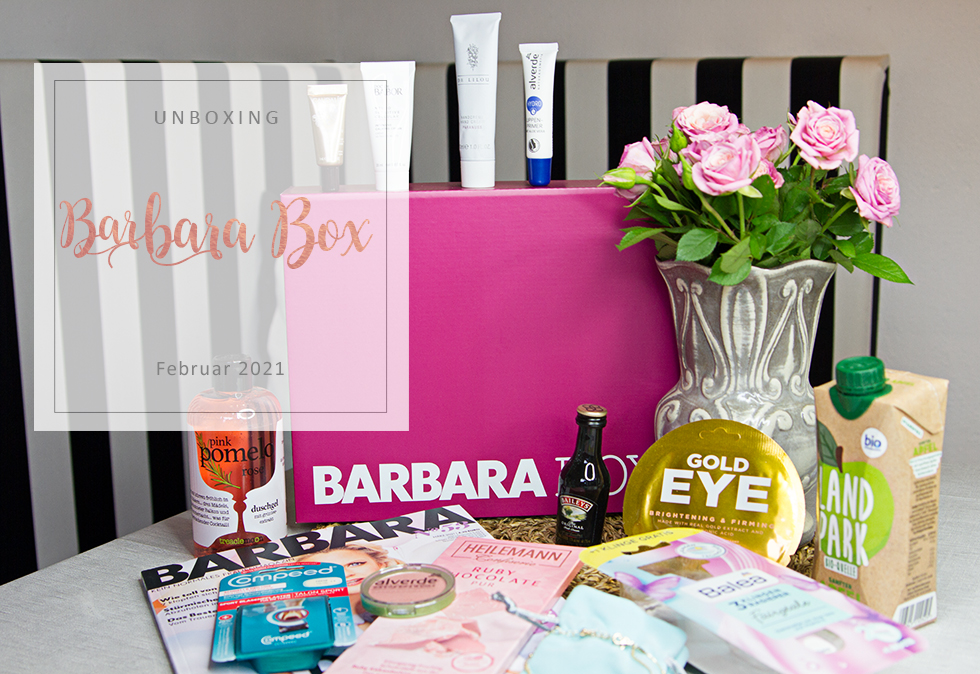 Barbara Box - Februar 2021 - unboxing