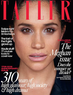 Duchess of Sussex to grace December 2019 cover of Tatler magazine