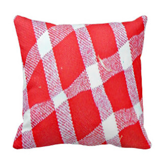Masai print throw pillow