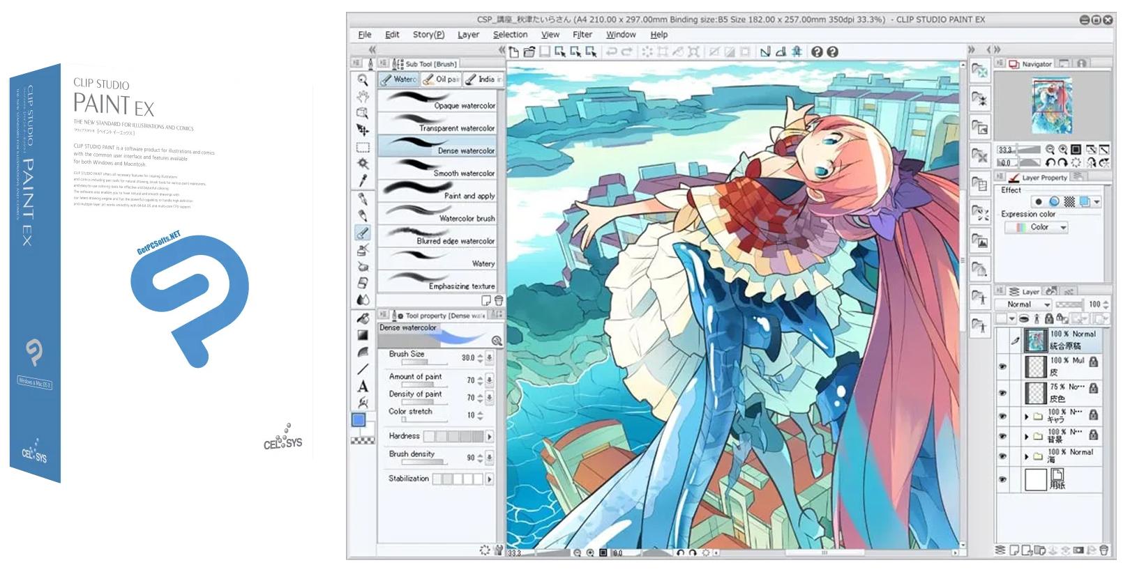 Cara Install Klip StudioPaint Full Version Gratis
