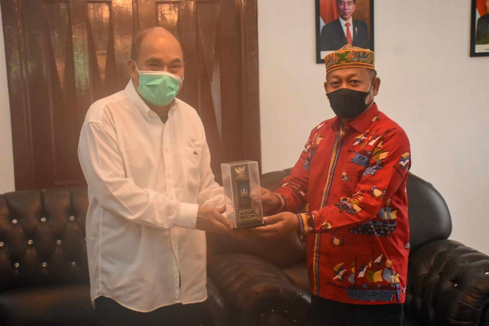 Plt Walikota Tanjung Balai Kunjung Pemko Tebin Tinggi Untuk Menjalin  Kerjasama