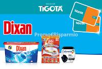 Logo Concorso ''Tenta la fortuna con Dixan 2020'' vinci 1300 Gift Card Tigotà