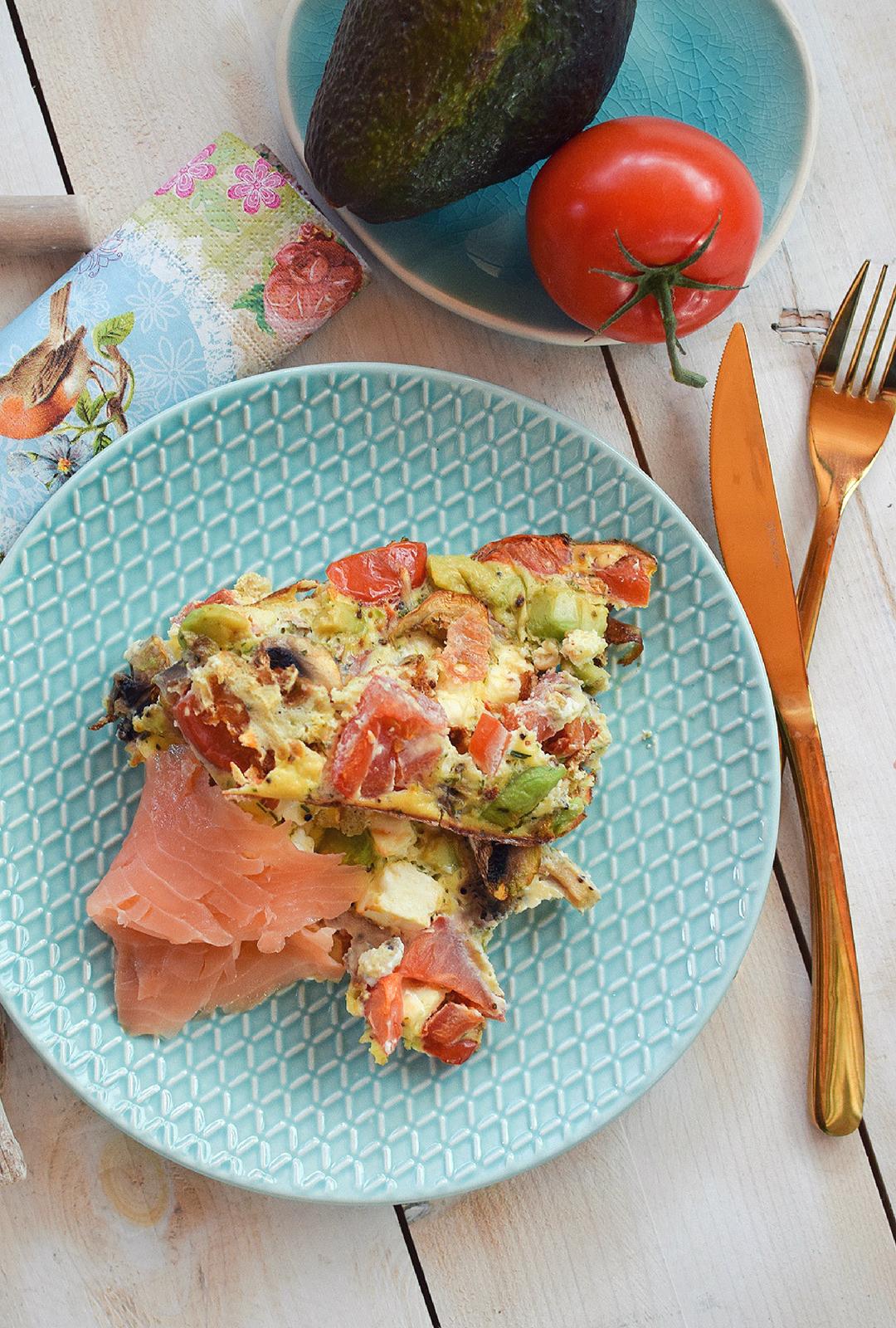 Gesundes Essen mit viel Eiweiß und ungesättigten Fettsäuren
