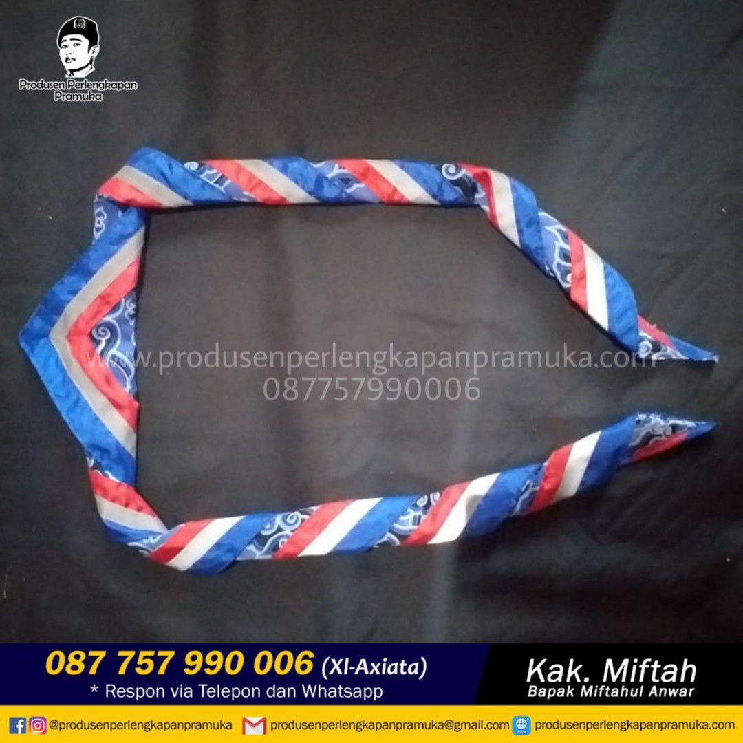 Jual Scraf Pramuka Batik | Grosir Scraf Pramuka Batik | Produsen Scraf Pramuka Batik