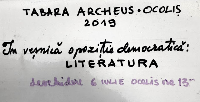 """Se apropie Tabăra de la Ocoliș. Tema de anul acesta: """"În veșnică opoziție democratică: Literatura"""""""