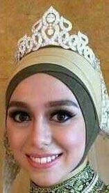 Diamond Flame Tiara Queen Saleha Brunei Mas'udah Abdullah