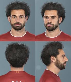 PES 2019 Faces Mo Salah by Messi Pradeep