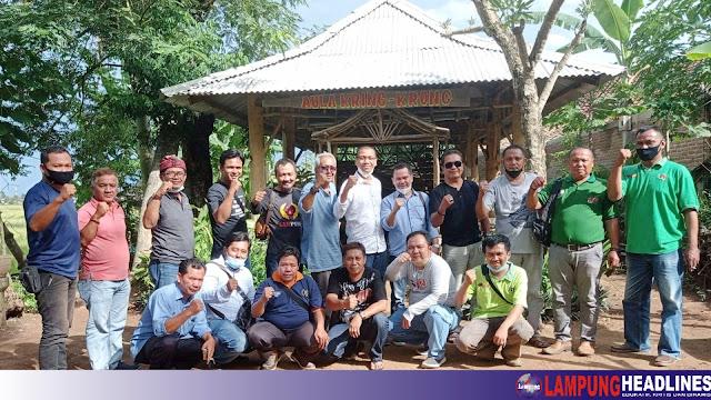 Wirahadikusuma Kunjungi PWI Pringsewu, Pastikan Maju Jadi Calon Ketua PWI Lampung