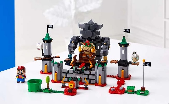 Lego Super Mario Set [SOLD OUT] Original Set Pricing Availability Countries Bowser