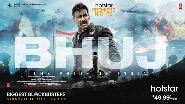 Bhuj The Pride of India (2020) 480p, 720p, 1080p Download Full Bollywood Movie in Hindi, English Index of