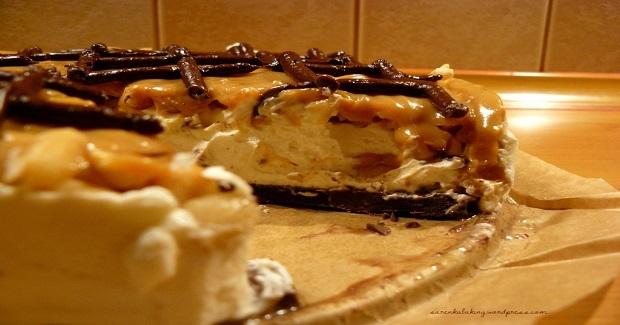 No Bake Toffi Cheesecake Recipe