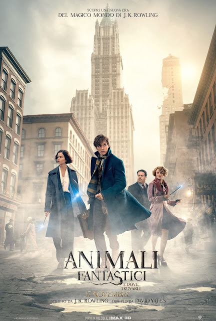 Animali Fantastici E Dove Trovarli David Yates