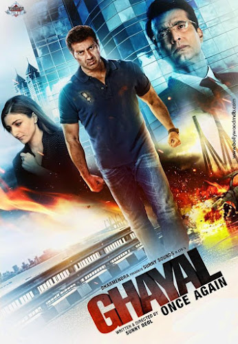 Poster Of Hind Movie Watch Online Ghayal Once Again Full Movie Download in HD DVDScr Free
