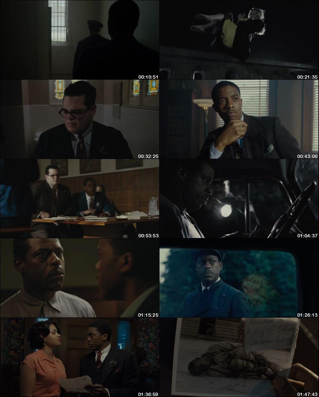 Watch Online Free Marshall (2017) Hindi Dual Audio 480p 720p Bluray