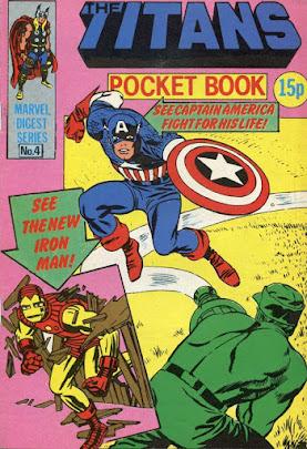 Titans pocket book #4, Captain America and Iron Man